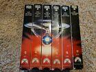 Lot Of 6 Vintage VHS Star Trek Movies, I,II,III,IV,V,VI picture