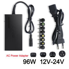 Universal 96W Laptop Power Supply Charger AC/DC 12V-24V Adjustable Power Adapter