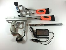 Angel Speed Silver Paintball Marker w/ Original Box, Soft Case & Extra Parts