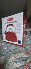 Prestige 2L Whistling Kettle Red