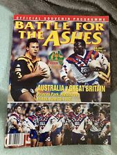 More details for 1992 australia v great britain 2nd ashes test @ mcg rugby league programme vgc