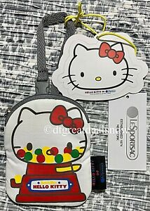 NEW LeSportsac LIMITED Hello Kitty Gum-ball Domed Charm Pouch 3422 G633