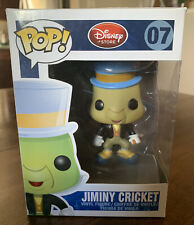 Jiminy Cricket Funko Pop #07 Disney Store Box Disney Pinocchio Vaulted