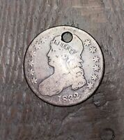 1832 Silver Capped Bust Half Dollar