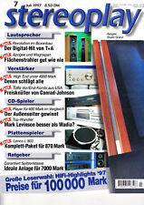 Stereopl .7/97 Philips CD 100, magnepan mg 20 se, Conrad-Johnson SC 26/sa 250,t+a a