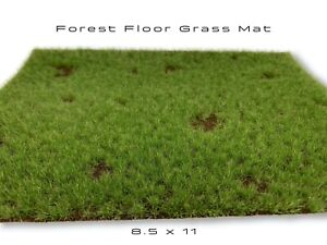 Forest Floor Static Grass Mat Model Scenery Landscape Ground Cover Tufts Diorama