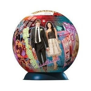 96 Pieces Puzzle Ball, High School Musical, Ravensburger 113309