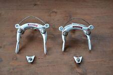 Vintage Weinmann Vainqueur 610 750 Centre Pull Brake Caliper Front Rear Pair 80s