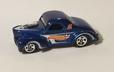 HOT WHEELS CUSTOM '41 WILLYS COUPE 1/64 SCALE LOOSE MINT NEVER PLAYED WITH