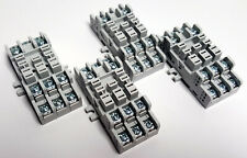 ALLEN-BRADLEY | 700-HN154 Ser A | Relay Socket 11 Blade Base | LOT OF 4