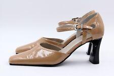 VENTURINI Damen Schuhe Pumps Größe 37 Beige Kunstleder ++ Kaum getragen