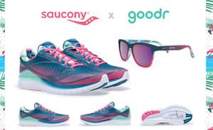 Saucony X Goodr Kinvara 10 Men's Shoes & Sunglasses Pack
