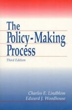 Policy Making Process, The (3rd Edition), Woodhouse, Edward J., Lindblom, Charle