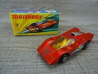 Vintage Lesney 1971 Hairy Hustler No 7 Matchbox Superfast Toy Car Boxed
