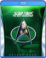 Star Trek: The Next Generation - Season 4 [Blu-ray] [1990] [Region Free] [DVD]
