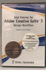 Total Training for Adobe Creative Suite 3 Design Workflow (DVD) Sealed! New