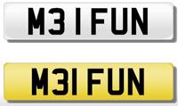 ///M3 M3I FUN Cherished NUMBER PLATE BMW M3 E36 E46 CSL GTS E90 E93 F80 E92