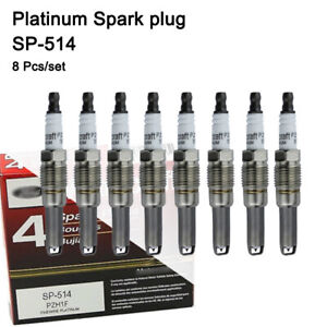 8pcs SP514 Platinum Spark Plugs PZH1F SP-547 PZK1F For 2005-2008 Ford Avanti NEW