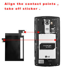 QI Wireless Charging Sticker Receiver with NFC IC Chip for LG G4 VS999 H815