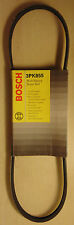 BOSCH 3PK855 Multi Rib Belt for Nissan Skyline R33 GTS RB25DE Pulsar N16 QG16DE