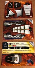 Pirates Of The Caribbean Uncommon Cards #030 HMS SUCCESS Pocketmodel 3 Cards New