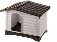 Casa para perro duradera, fabricada con plástico resistente a los golpes