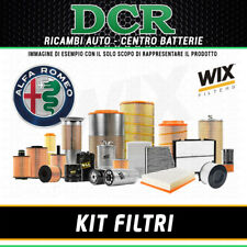 REPLACEMENT FILTER KIT ALFA ROMEO 159 2.4 JTDM 200HP 147KW FROM 09/2005 WIX