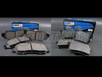 Hawk HPS Brake Pads Front & Rear 04-08 Acura TSX