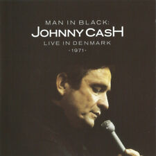 JOHNNY CASH - MAN IN BLACK: LIVE IN DENMARK 1971  CD NEW CLASSIC COUNTRY