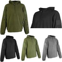 Tactical Recon 1/4 Zip Fleece Jacket Army Hoodie Security Police Hoody 035