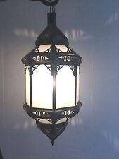 Lustre plafonnier marocain fer forgé lampe applique lanterne suspension sa