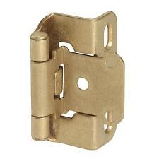 25 Amerock Burnished Brass Self-Closing Cabinet Door Hinge 2/Pk BP755-BB