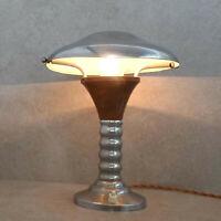Antike Tischlampe aus Kupfer/Blech schwenkbaren Lampenschirm, Designer-Lampe Rar