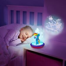 MY LITTLE PONY RAINBOW DASH 3 IN 1 MAGIC GO GLOW NIGHT LIGHT FREE P+P NEW