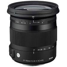 Sigma 17-70mm f/2.8-4 DC Macro OS HSM Zoom Lens NIKON DSLR 4 YEAR USA WARRANTY