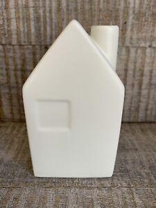 Hearth and Hand Magnolia Bud Vase Ceramic House Small / Cream ~ New