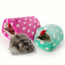 Mini Hamster Hedgehog Warm Chinchilla Guinea Pig Nest Small Animal Pet House New