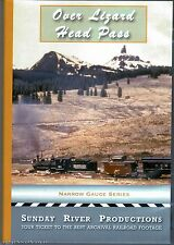 OVER LIZARD HEAD PASS RIO GRANDE SOUTHERN SUNDAY RIVER PRODUCTIONS DVD-R VIDEO