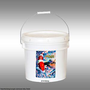 Nijikawa Professional Koi Food 22lb 5MM Sinking  :Authorized eBay Dealer: