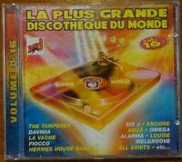 La Plus Grande discothèque du Monde Vol 16 (1998, CD, Compilation) Dance *T.B.E.