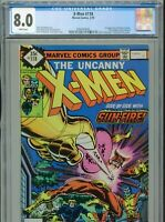 1979 MARVEL UNCANNY X-MEN #118 BYRNE 1ST APPEARANCE MARIKO YASHIDA CGC 8.0 BOX1