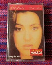 Tina Arena  ~ Don't Ask ( Malaysia Press ) Cassette