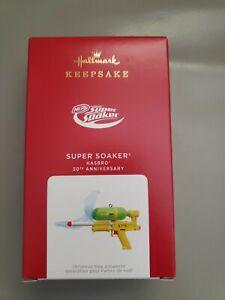 NIB 2021 Hallmark Hasbro Super Soaker 30th Anniversary Ornament Free Shipping