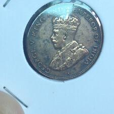 1933 Hongkong KGV 1cent coin (一 仙 ) copper  very  High Grade! nice