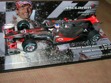 VODAFONE McLAREN MP4-25 BUTTON WINNER AUSTRALIAN 2010 1/43 MINICHAMPS PROMO