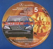 MERCEDES BENZ ML NAVIGATION NAV DISC OEM S0014-0005-109 S00140005109