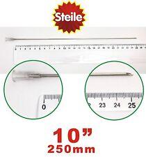 "2x Extra Long 10"" 250mm Needles for Medicine Syringe Luer Slip/lock- Gauge 15g"