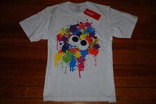 "NEW Men's Nintendo x UNIQLO Colorful ""Splaton"" UTGP Graphic T-Shirt (Large)"