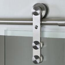 Schiebetürbeschlag Edelstahl Schiebetürsystem für Glas Rehlingbeschlag