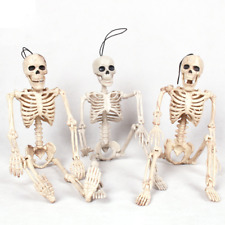 Human Skeleton Bones Real Life Size Hanging Halloween Props Decoration House New